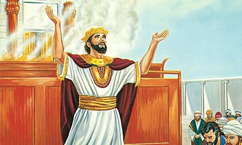 По стопам Спасителя — Книга царств 3. Глава 8.