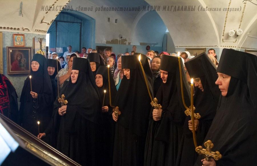Служения в монастыре